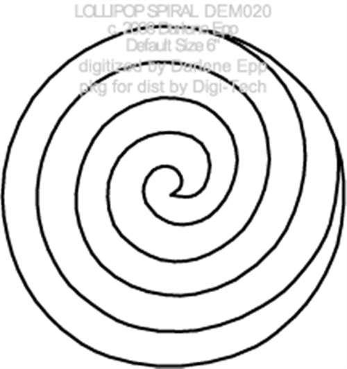 Lollipop clipart swirly Template Swirl Template Swirl Download