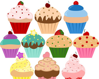 Muffin clipart candies Art cupcake DOWNLOAD Personal clip