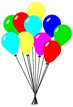 Balloon clipart ten Art Cliparts Zone Costello Painting
