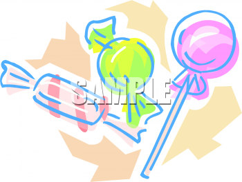 Lollipop clipart wrapped candy Hard com Candies Lollipop and