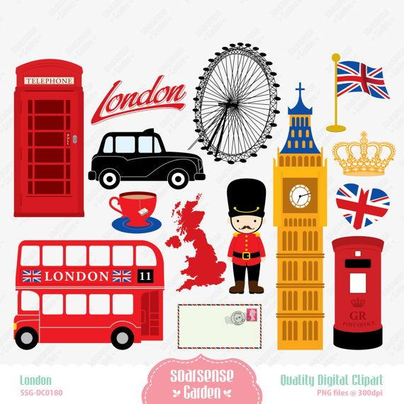 London clipart Clipart SSGARDEN about $3 London