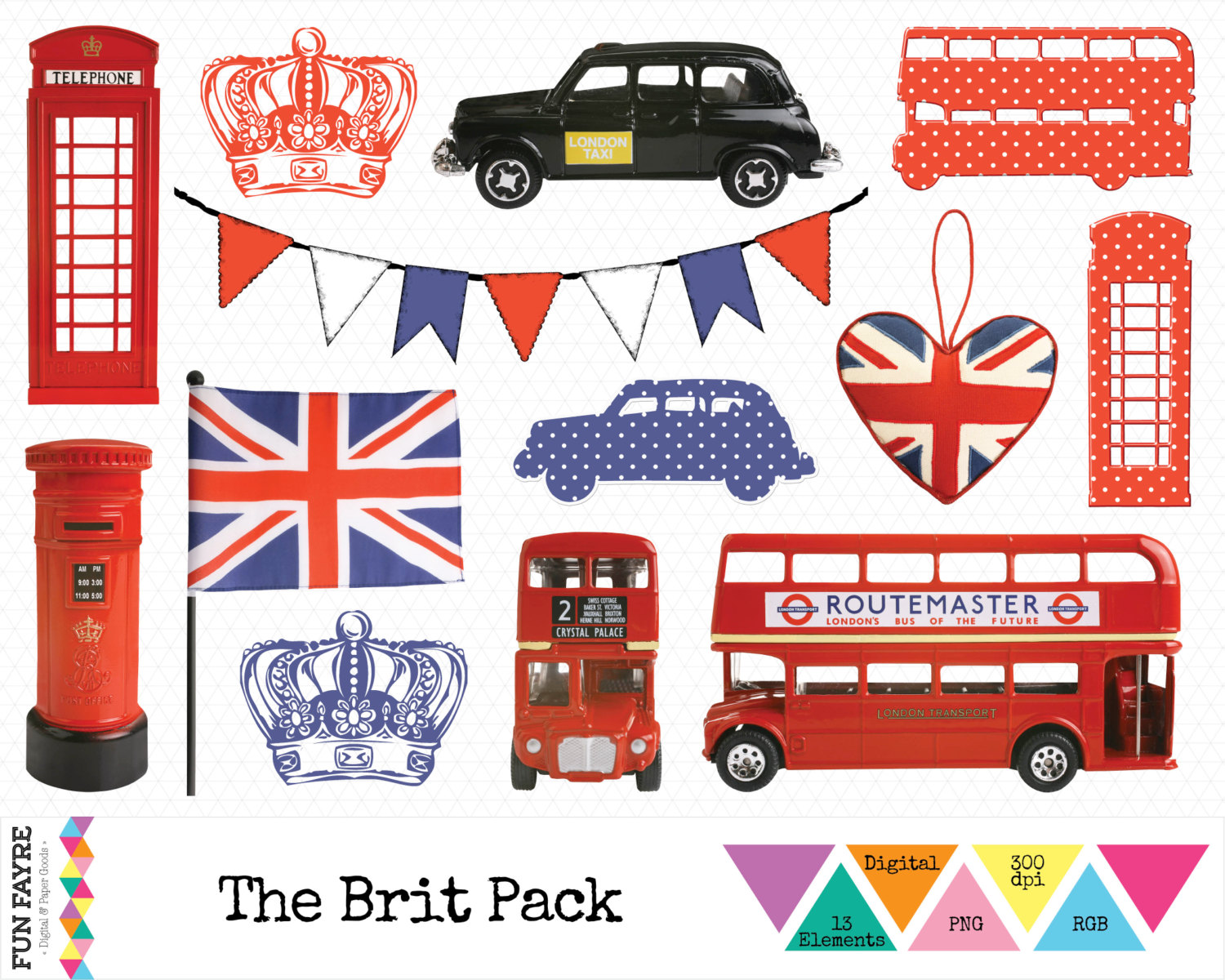 London clipart Bus Etsy Jack BRITISH Phone