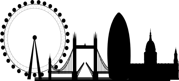 London clipart Clip Blank vector Clip Download