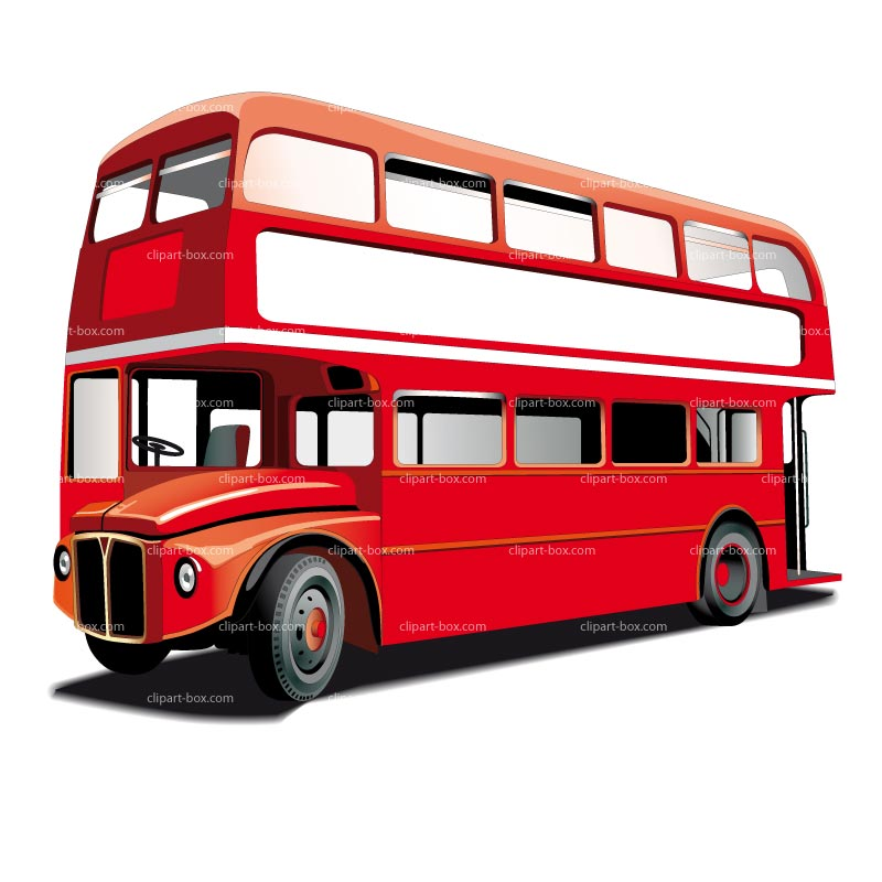 Bus clipart red bus WikiClipArt bus clipart 2 London
