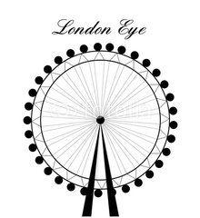 London Eye clipart London Eye Drawing #4