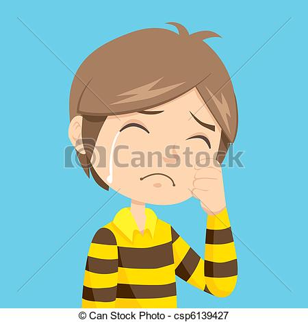 Lonely clipart unhappy boy #15