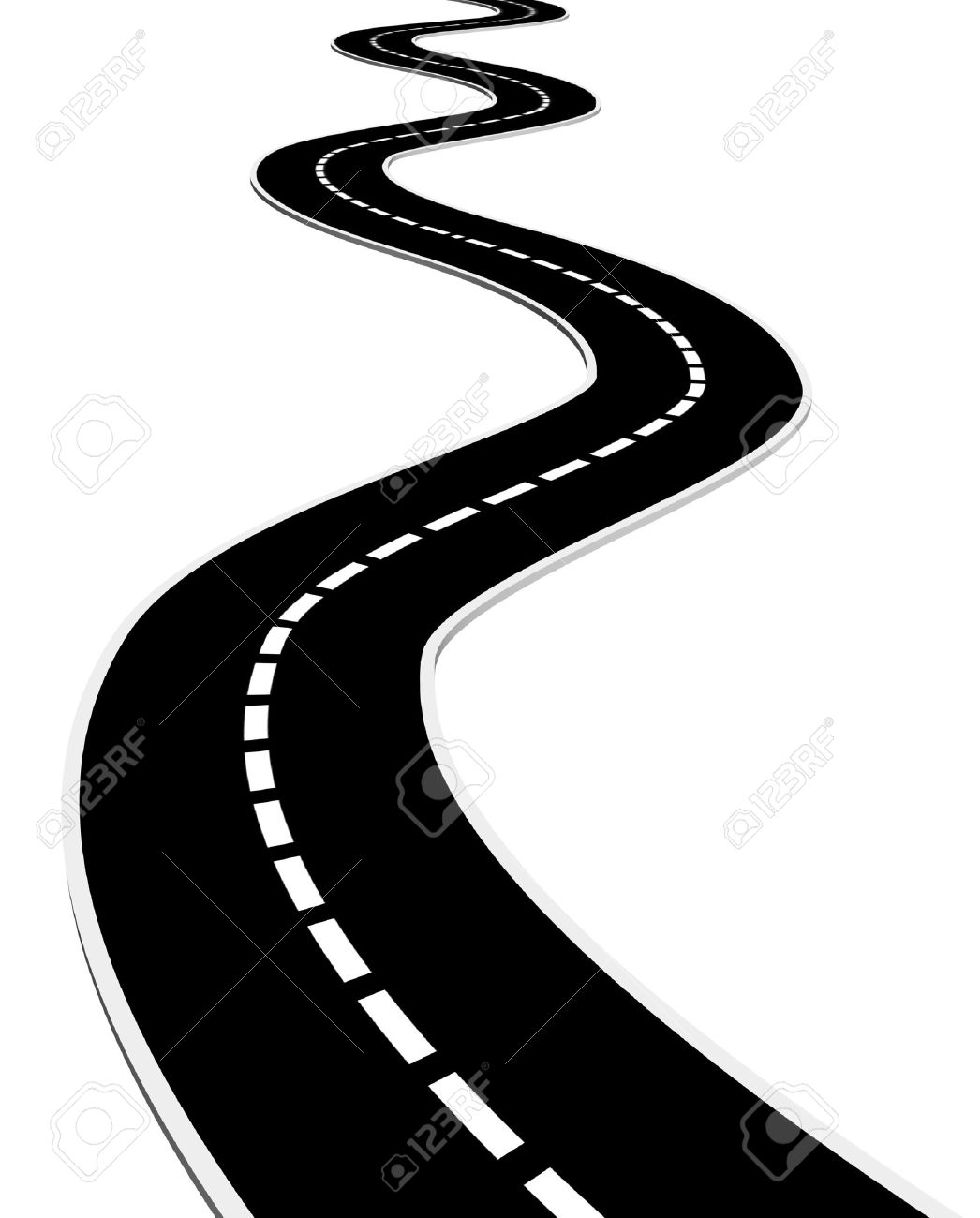 Race clipart road #14