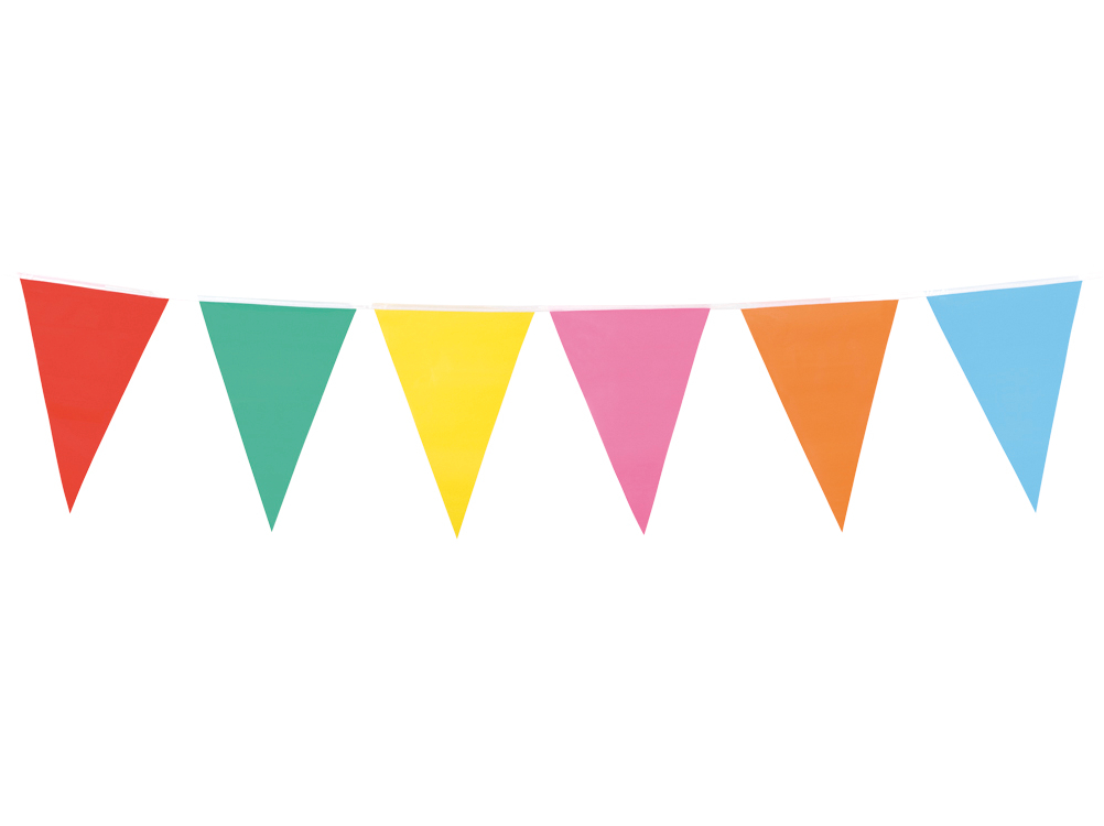 Single clipart bunting Pennant Bunting Multicolour Superstores Party