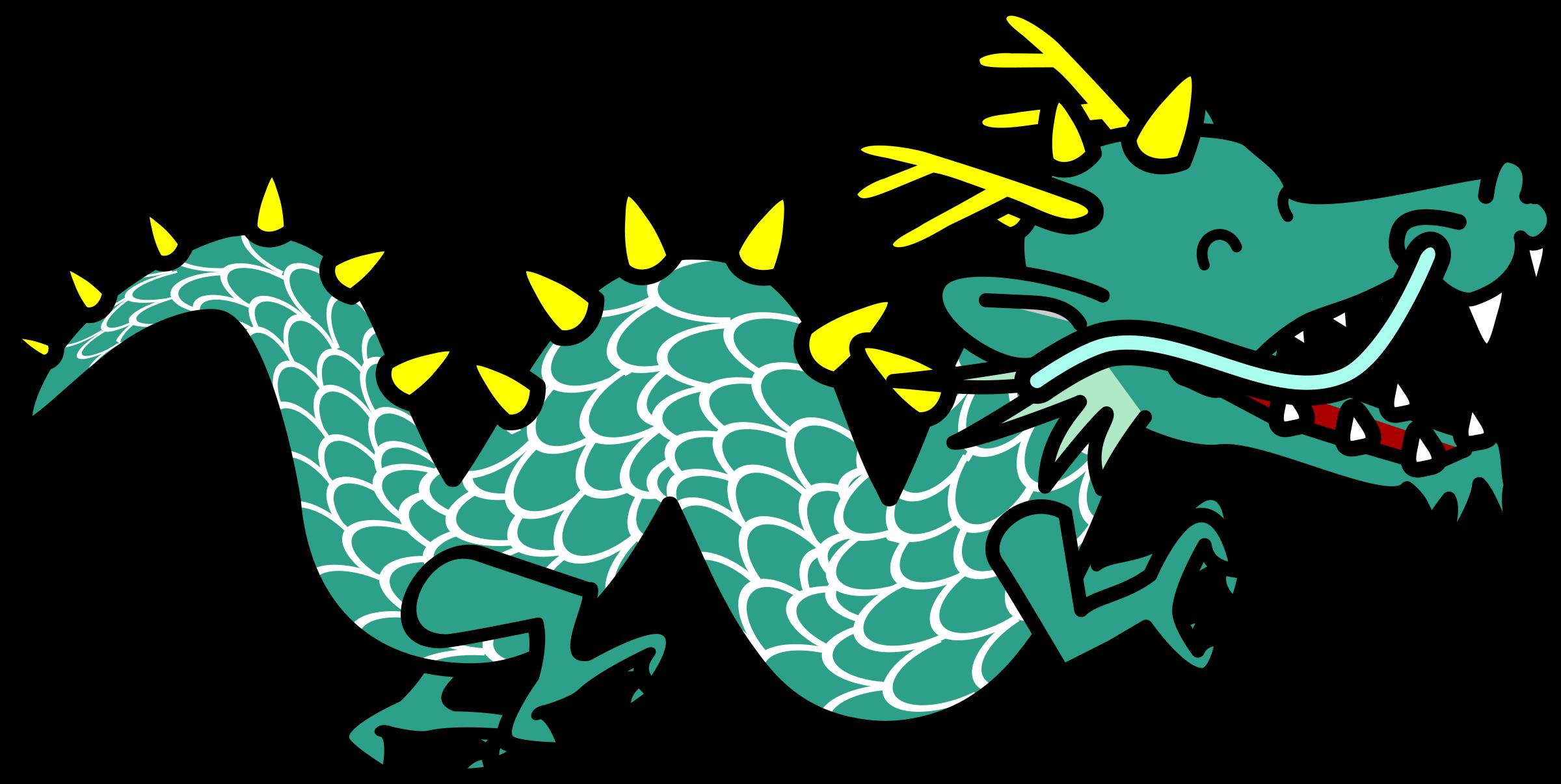 Chinese Dragon clipart easy Clipart dragon dragon