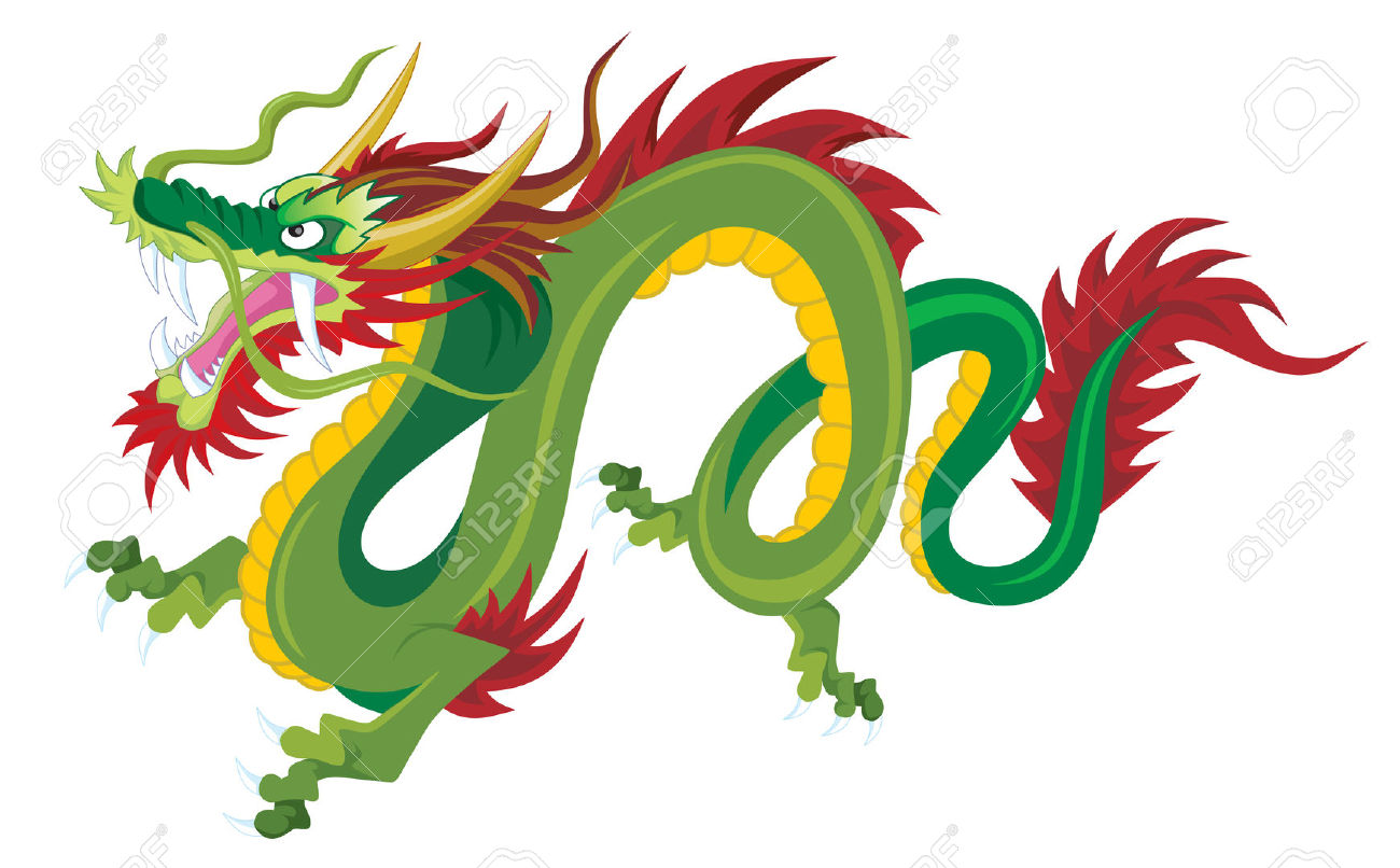 Chinese Dragon clipart traditional chinese Clipart dragon Green collection Chinese