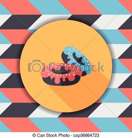 Long clipart donut #2