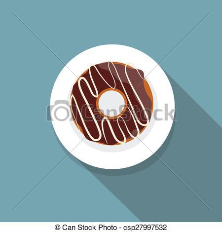 Long clipart donut #5