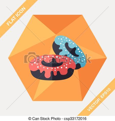 Long clipart donut #6