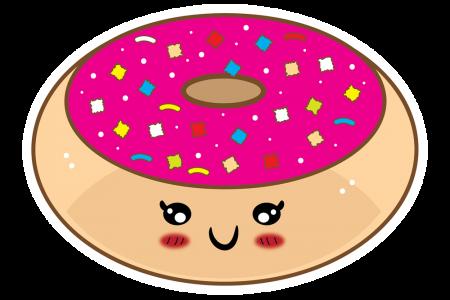 Long clipart donut #3