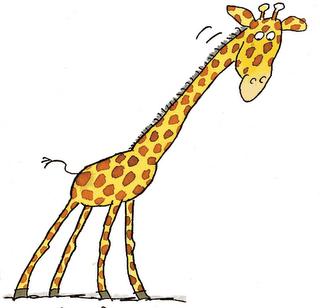 Long clipart giraffe #15