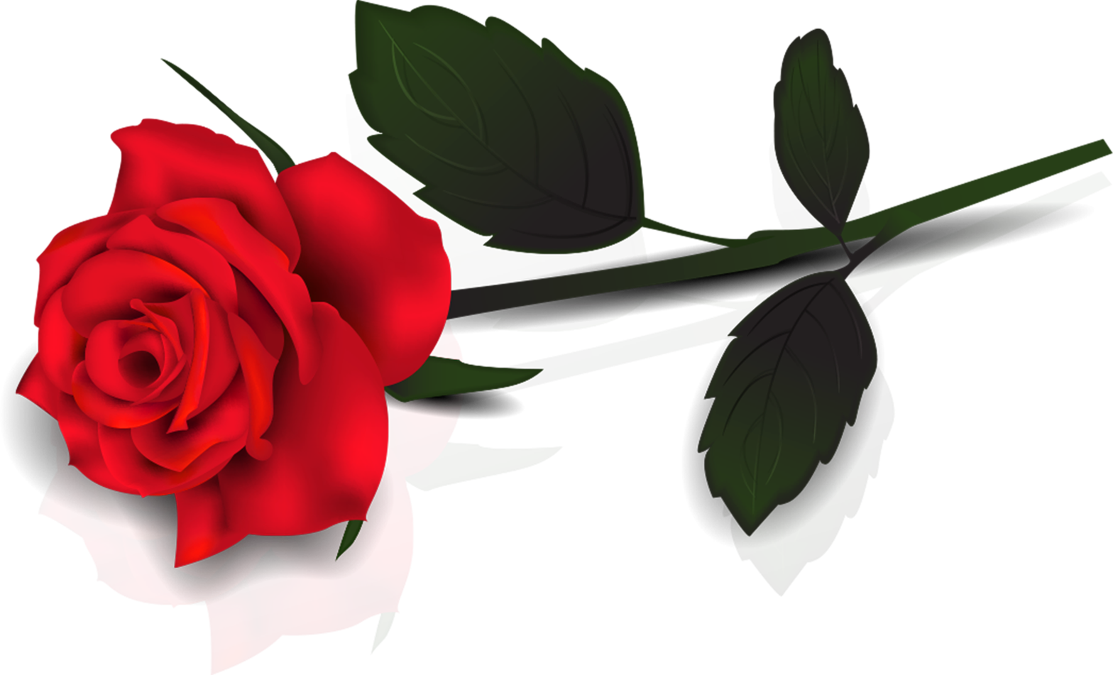 Red Flower clipart long #10