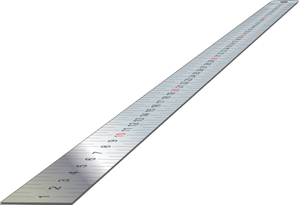 Long clipart ruler #13