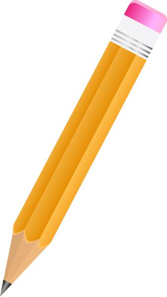 Pencil clipart sharp pencil Art Clipart Yellow Download Pencil