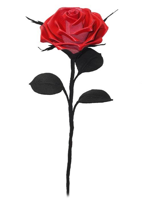 Rose clipart long stem rose #10