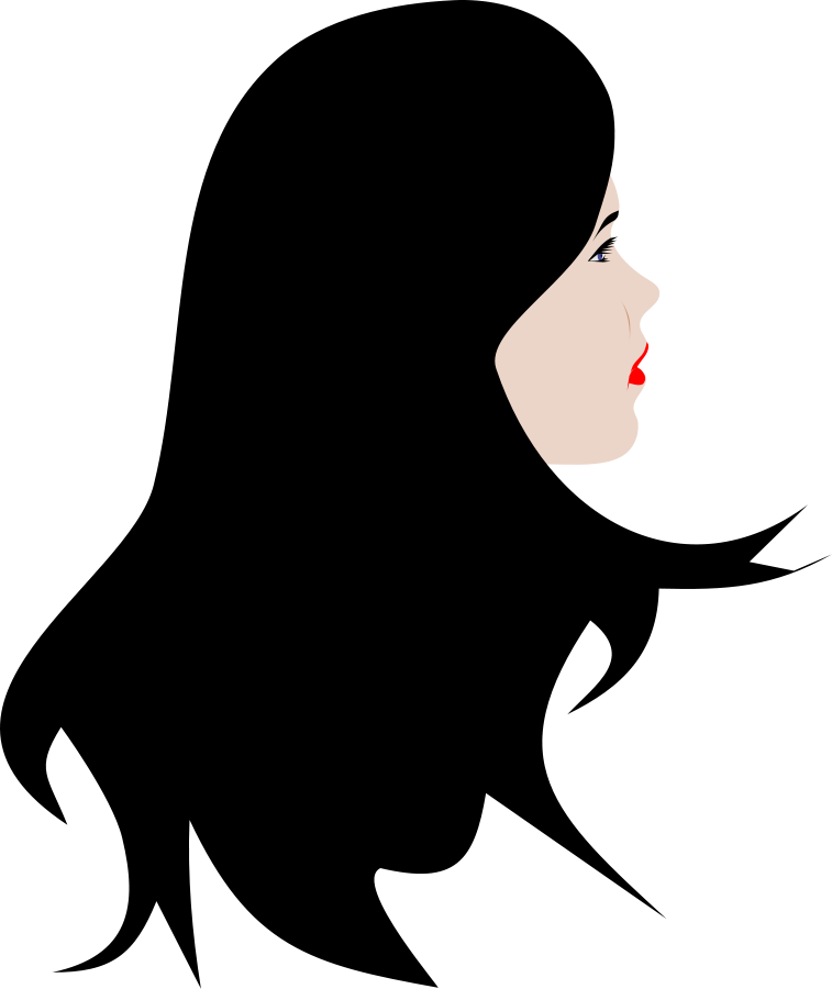 Black Hair clipart #17261 Beauty Art 9 Best