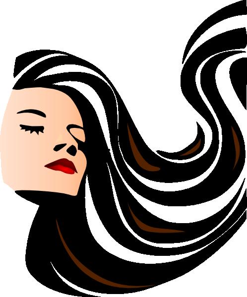 Long Hair clipart Image at Hair vector this