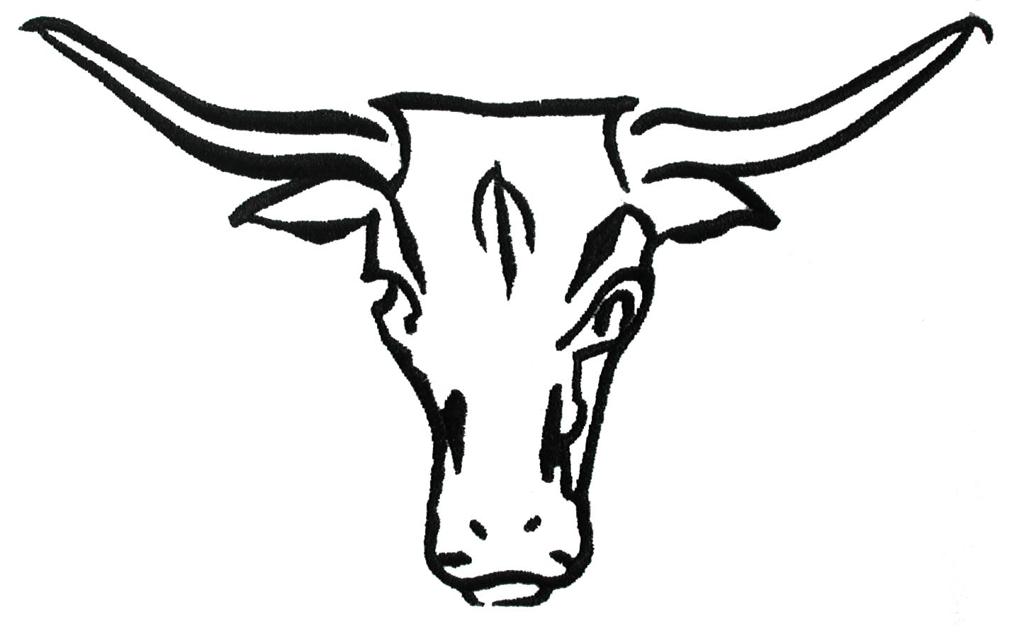 Longhorn Cattle clipart Longhorn clipart Clipart Collection Hand