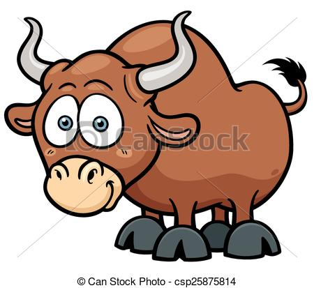Bull clipart cute  and Bull 654 illustration