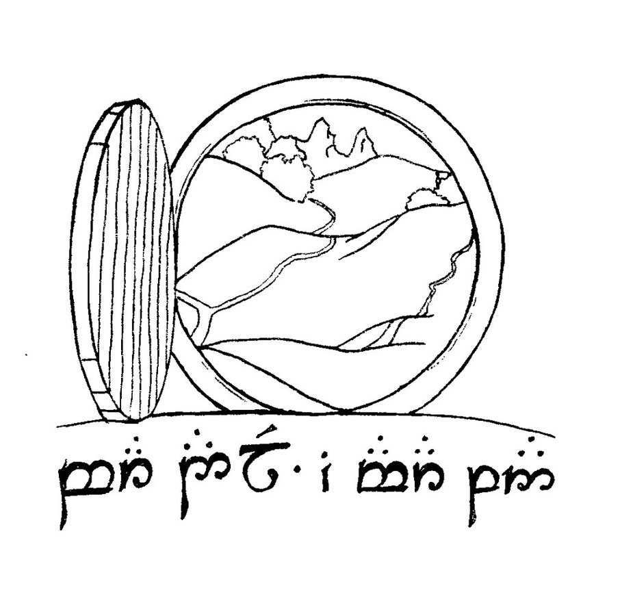 Lord Of The Rings clipart Rings rings the walls the