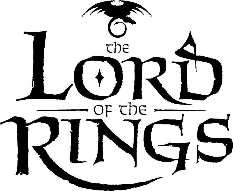 Lord Of The Rings clipart black and white #8