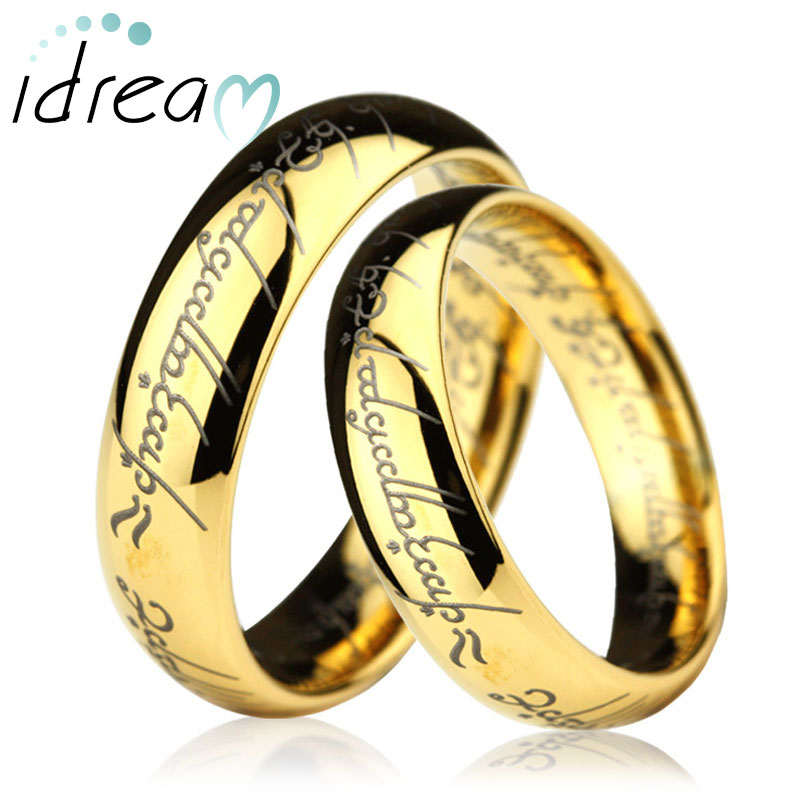 Lord Of The Rings clipart gold ring Magic Lotr solid carved emerald