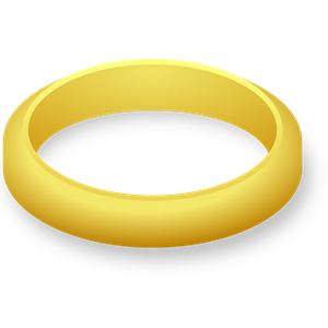 Lord Of The Rings clipart gold ring Png Wedding (wmf of Ring