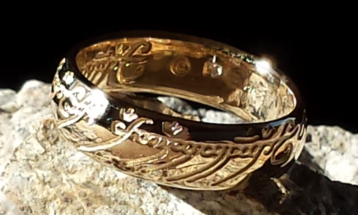 Lord Of The Rings clipart gold ring Silver Lotr usa shippingwholesales price