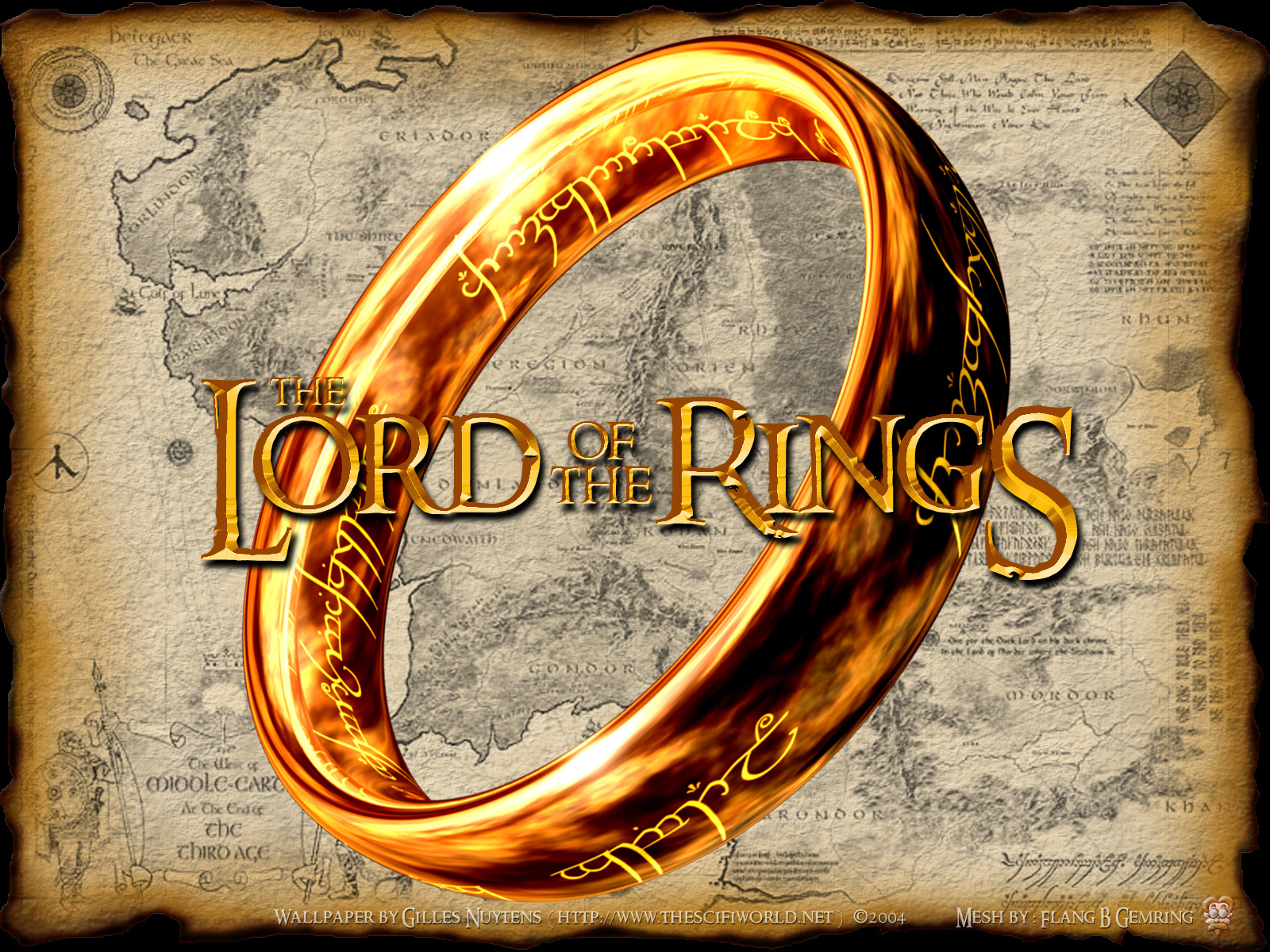 Lord Of The Rings clipart gold ring Download The Of clipart Download