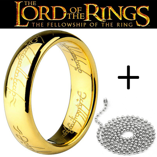 Lord Of The Rings clipart gold ring  Gold Rings One Lord