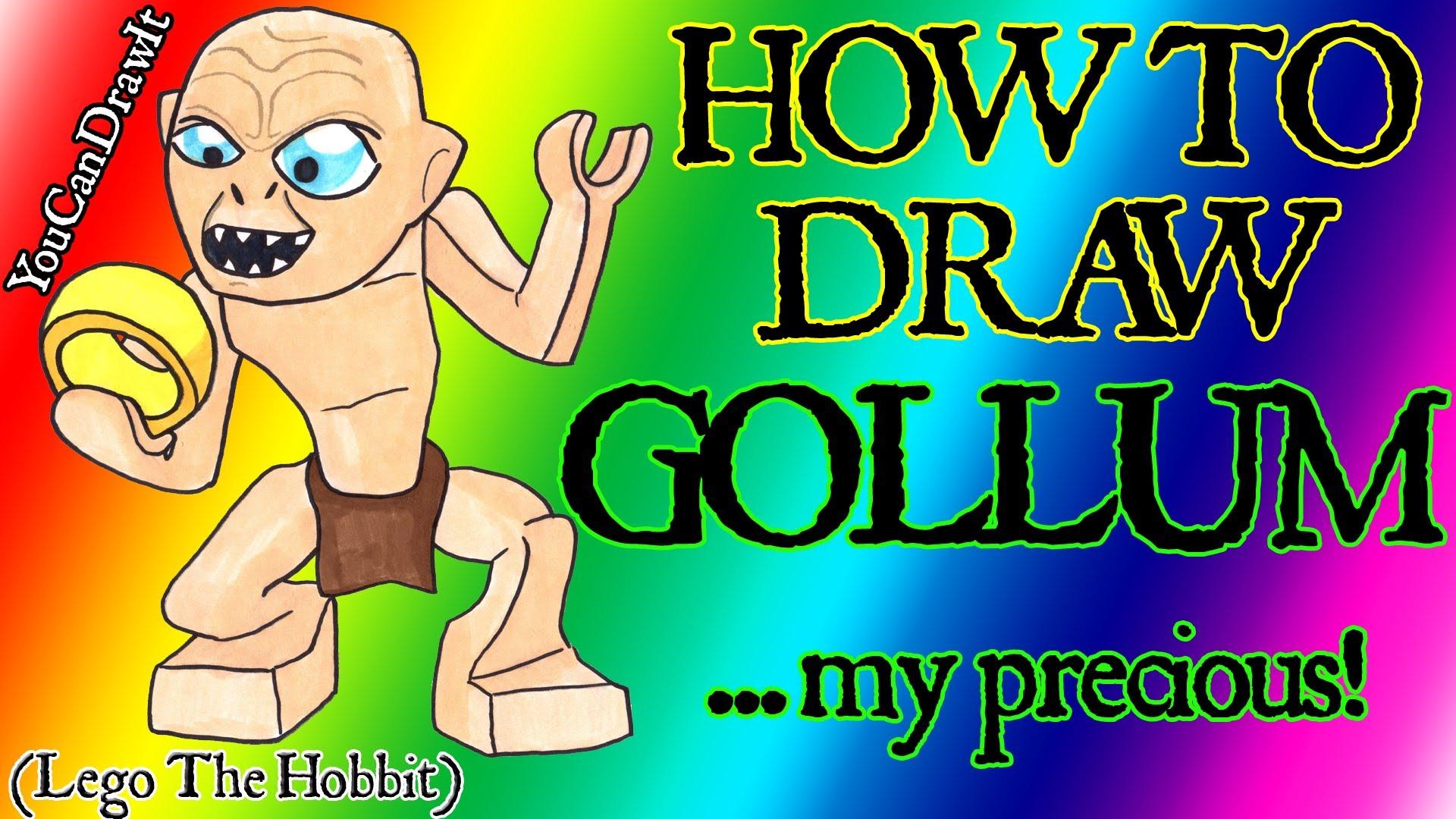 Hobbit clipart gollum 1080p Gollum & Gollum How