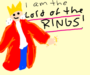 Lord Of The Rings clipart power #5