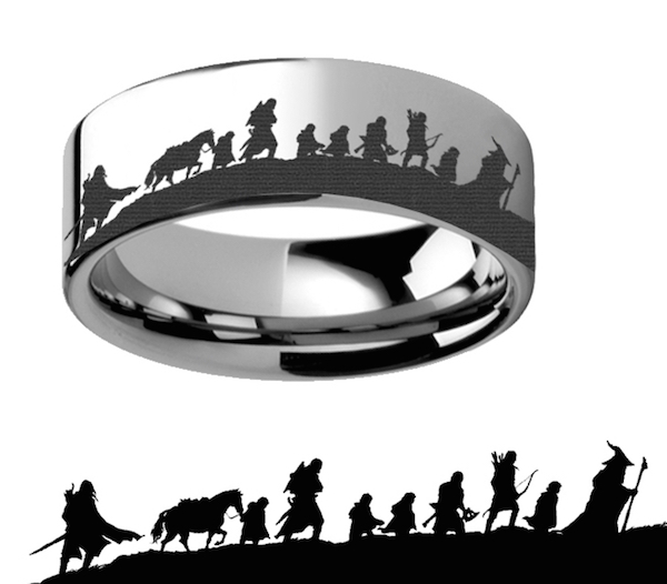 Lord Of The Rings clipart silhouette #6