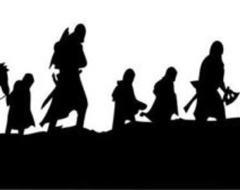 Lord Of The Rings clipart silhouette #8