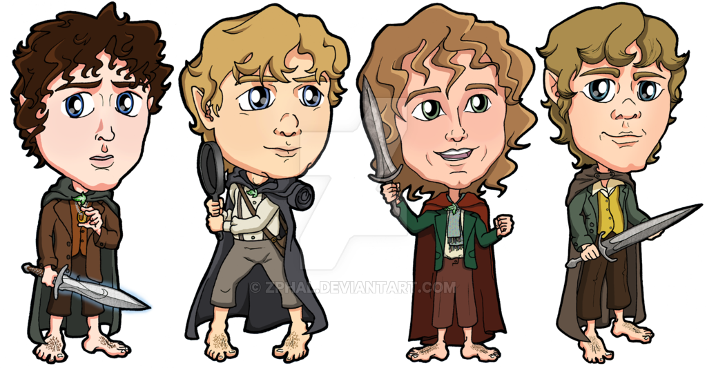 Hobbit clipart lotr The rings Lord lord Hobbits