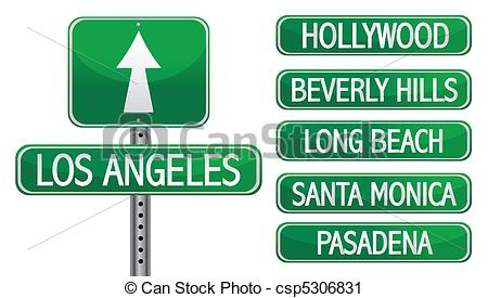 Los Angeles clipart #10