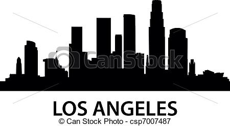 Los Angeles clipart Skyline Photo free detailed Los