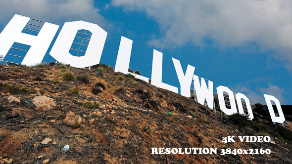 Los Angeles clipart Hollywood Sign Clipart Shot close los clipart Sign