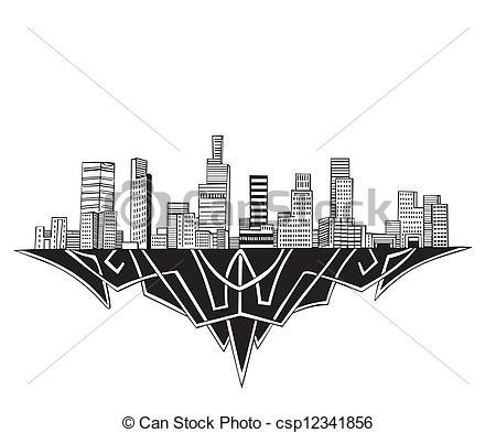 Los Angeles clipart Los Skyline Los and