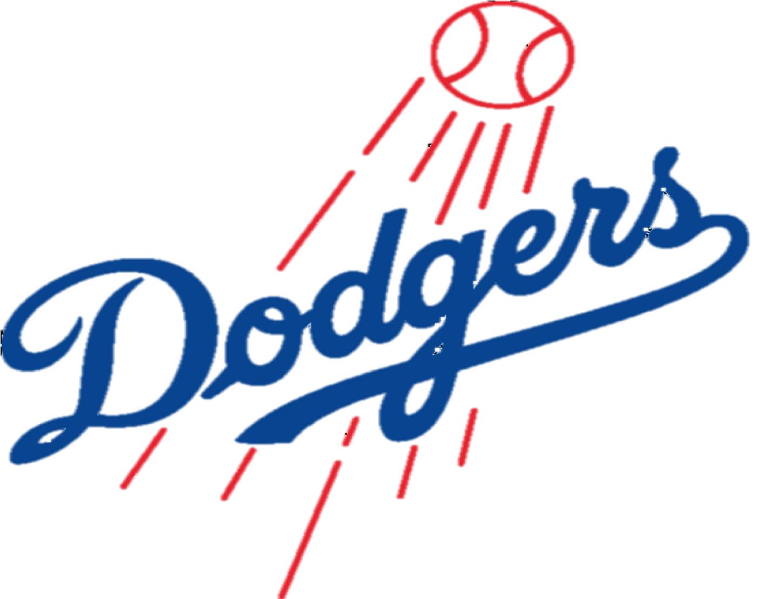 Baseball clipart dodgers #1