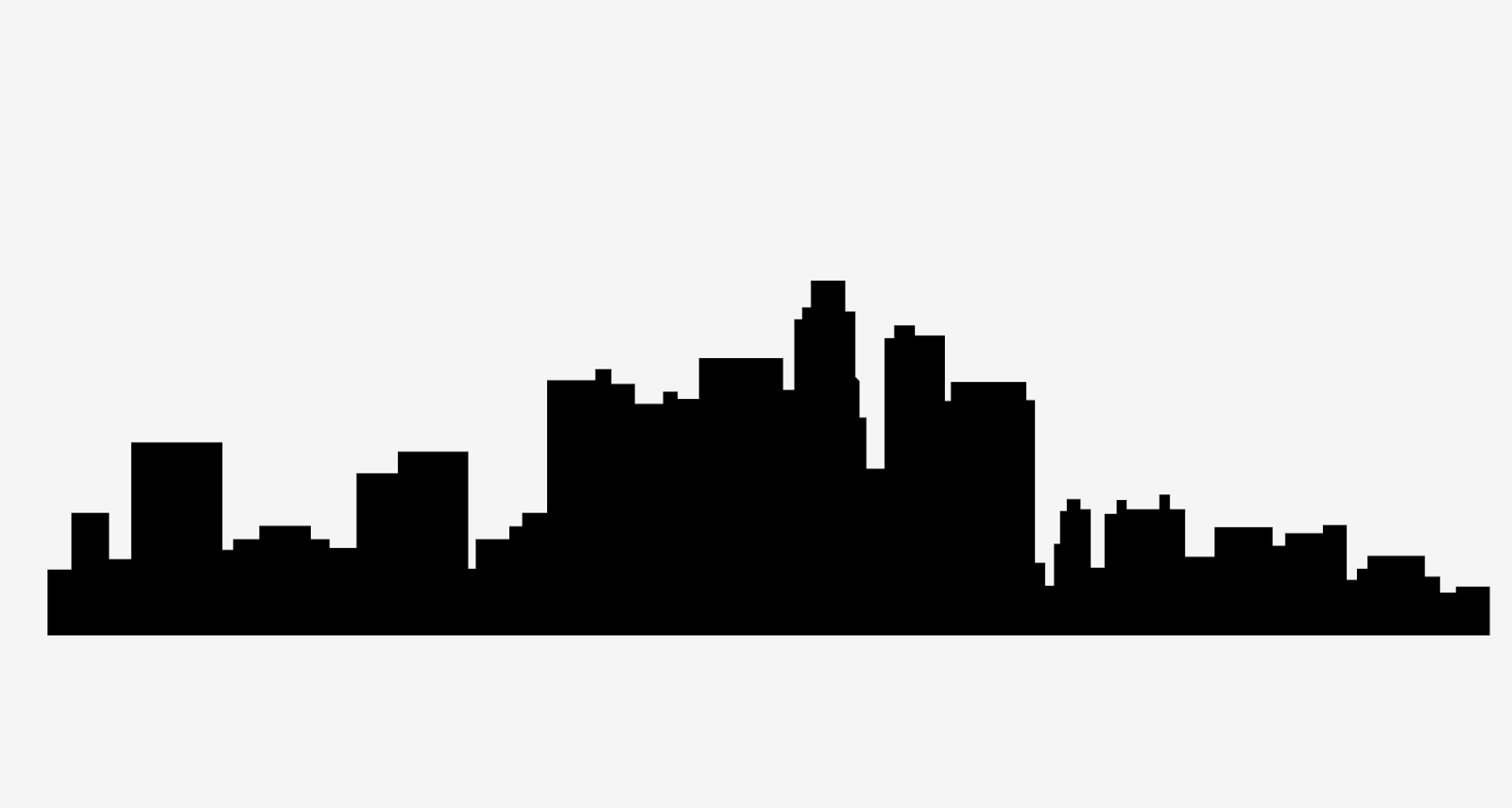 Cityscape clipart la skyline #2 Skyline Skyline svg svg