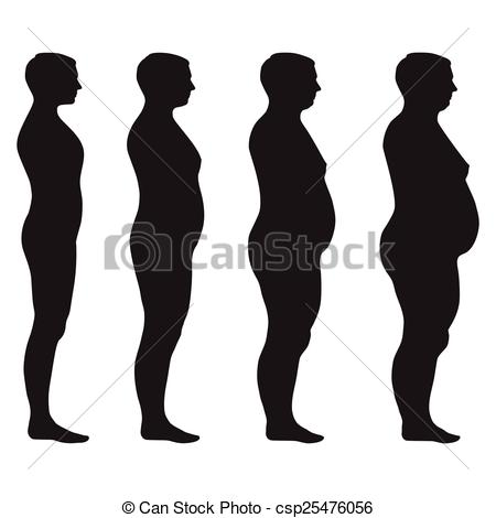 Loss clipart body weight Vector loss Clipart fat fat