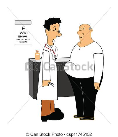 Loss clipart doctor Doctor speaking weight who Vector