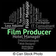 Loss clipart film producer Job Producer  Producer royalty