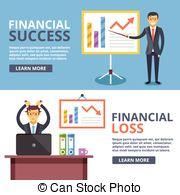Loss clipart lost money Financial success financial lost success