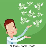 Loss clipart lost money Loss money stressed csp22862538 lost